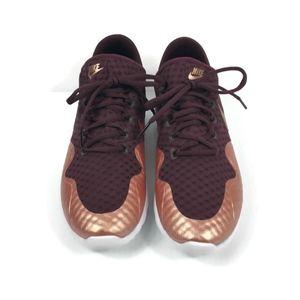 Nike Shoes - Nike Air Max Sasha Burgundy and Rose Gold NEW